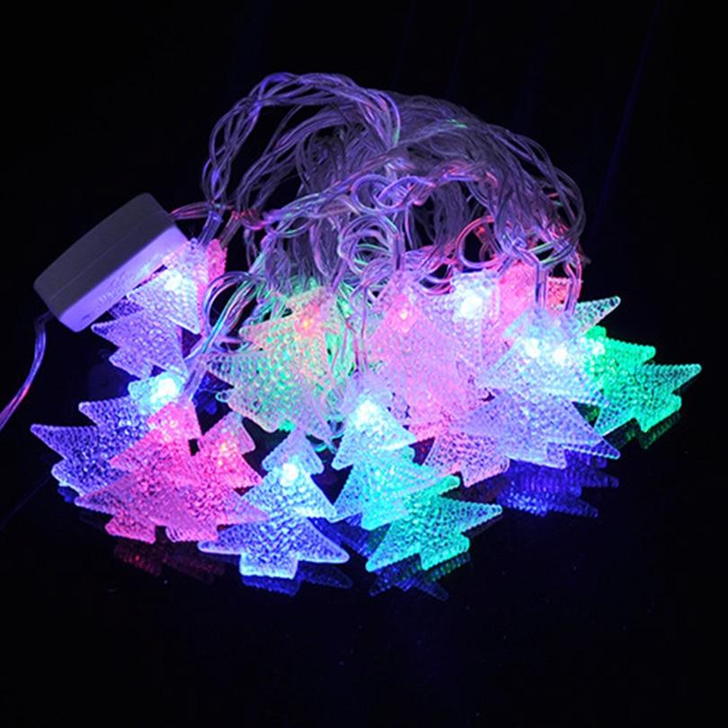 4M 20leds Colorful 110V/220V LED String Lights holiday Halloween Christmas Festival Wedding Party Outdoor Decoration Light