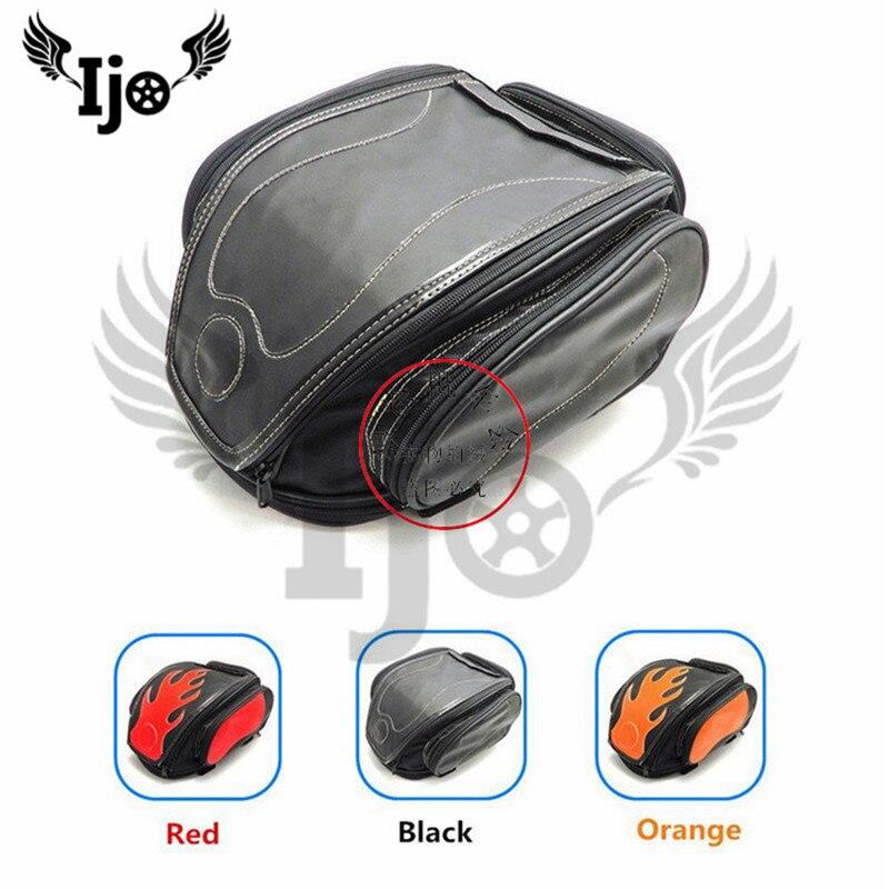 sacoche moto saddle bag for hyosung yamaha benelli harley softail sportster mochila moto maletas moto helmet bag motorcycle bag