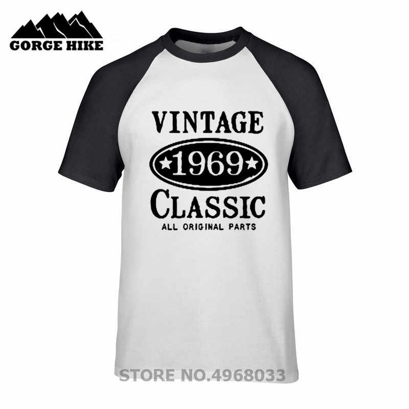2019 Trend Tshirt 1969 Vintage Classic Inspired Design 50th Birthday Gift T Shirt For Men Round Neck 100 Cotton Clothes T Shirt T Shirts Aliexpress