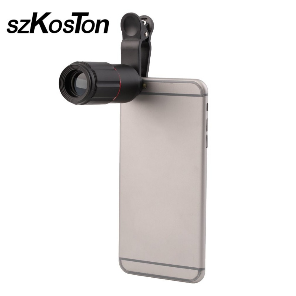 8X-18X Zoom Telescope Telephoto Camera Lens for Samsung S8 S7 Note 8 for iphone 8 7 6S Plus Redmi Note 4 4X Huawei P10 P9 P8