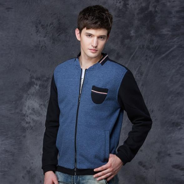 Popular Street Style Young Man Fashion Varsity Jacket Size M,2XL Autumn  Winter New Arrival Men Casual Baseball Coats