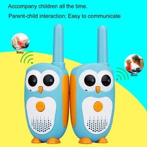Image 2 - Retevis RT30ミニトランシーバー2個子供ポータブル双方向ラジオ0.5ワット1チャンネル2ボタンおもちゃ単純なクリスマスギフト動作