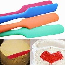 Mixer Silicone Cake Sugarcraft Cream Butter Spatula Mixing Batter Scraper Baking Tool