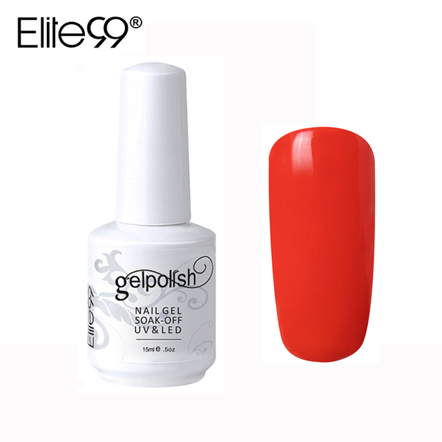Elite99 15ml Long Lasting Nail Polish Soak Off Colorful Varnish Gelpolish Primer Gel