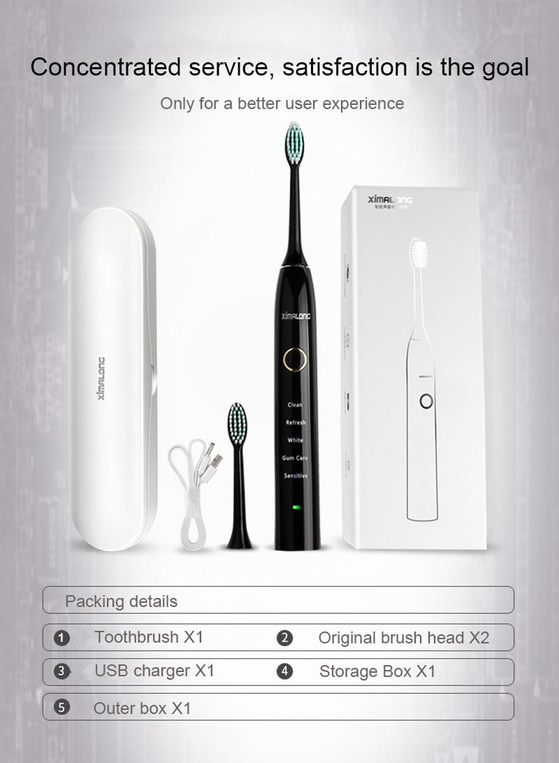 XIMALONG sonic toothbrush 16