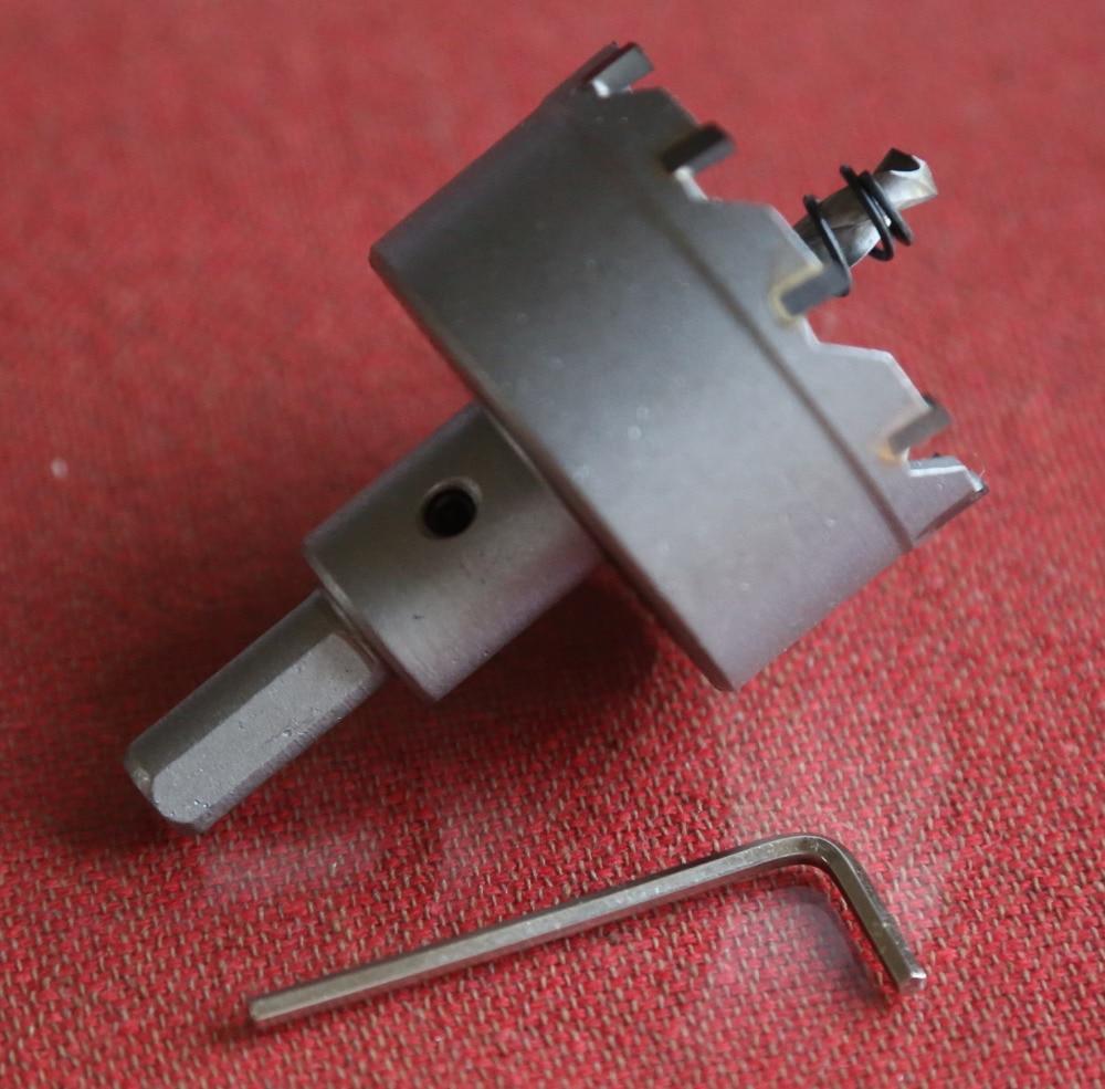 1 PC diameter 63-100 mm bereik TCT stalen gatenzaagkern voor staal - Boor - Foto 4