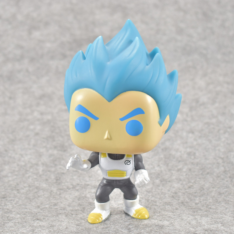 2018 Fashion Dragon Ball Toy Son Goku Anime Super Vegeta POP Model Doll Collection Toys For Children Christmas Gifts ...