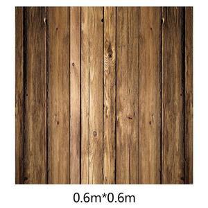 Image 5 - ALLOYSEED 60x60cm rétro planche de bois Texture photographie fond toile de fond pour Studio Photo vidéo fonds photographiques accessoires
