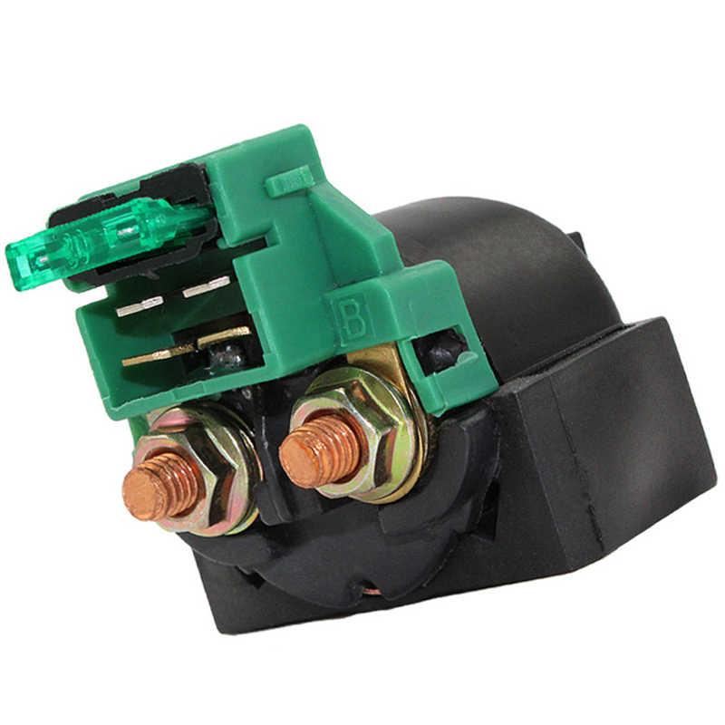 Interruptor de encendido del solenoide del arrancador de la motocicleta de la pasión del camino para HONDA VT700 VT750C XL600V NV400 CB450 CB650 CB550 CX650