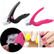 Elecool Stainless Steel Head Nail Clipper Acrylic Gel French False Tips Cutter