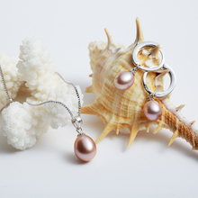 Freshwater Pearl Jewelry set (3 colors)