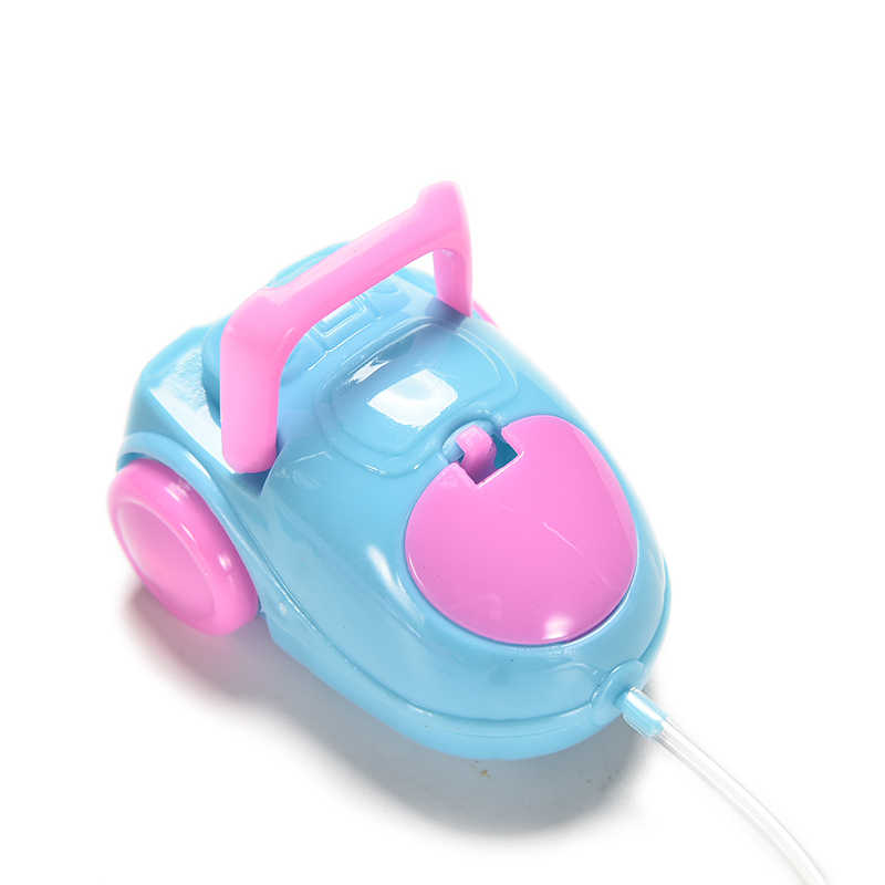 2018 sevimli bebek mobilya çocuk oyun evi bebek aksesuarları mini elektrikli süpürge için