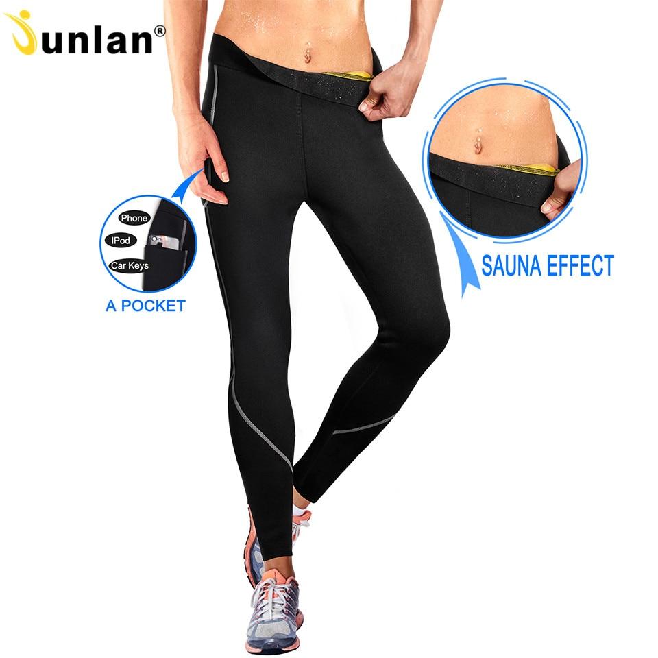 459facc1358fad Detail Feedback Questions about Junlan Women Elastic Control Pants Shaper Neoprene  Slimming Trousers Workout Bottom Shapewear Reducing Body Shapers ...