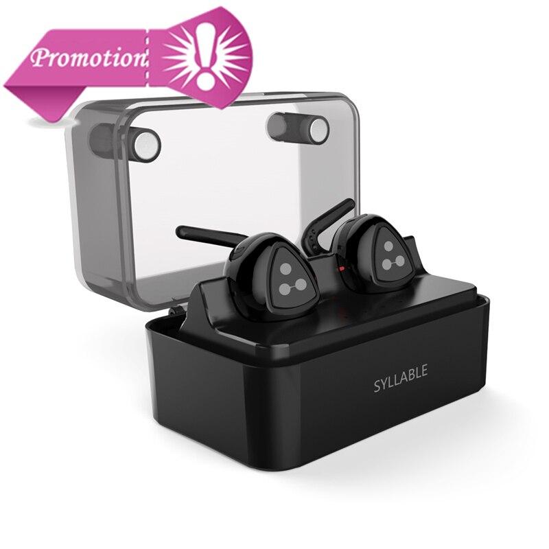 NOUVELLE D'origine Syllabe D900 Mini Casque Bluetooth Stéréo Sans Fil Écouteur Bluetooth Casque Mains Libres Mini-Écouteurs avec micro