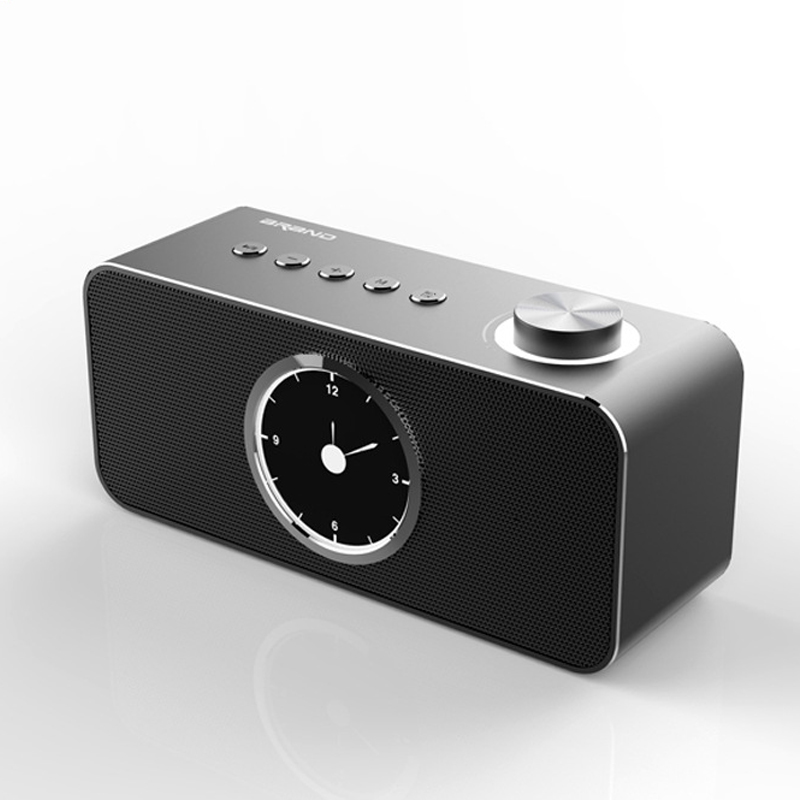 Metal Clock Bluetooth 4.2 Speaker Home Office Outdoor Wireless Alarm Clock Subwoofer Speaker For TV Computer Iphone Xiaomi Metal Clock Bluetooth 4.2 Speaker Home Office Outdoor Wireless Alarm Clock Subwoofer Speaker For TV Computer Iphone Xiaomi