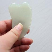 Gua Sha face Treatment Massage Tool Chinese Natural Jade Scraping Tools