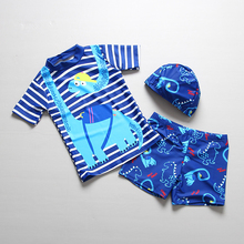 Экспорт качественный купальный костюм для маленьких мальчиков из 2 предметов, купальные костюмы для мальчиков, детски