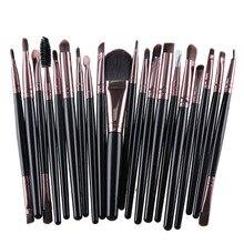 20pcs/Set Eye Shadow Foundation eyeliner Eyebrow Lip Brushes for Makeup Brushes set Tools cosmetics Kits beauty Makeup Brush Set