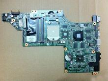 45 days Warranty For hp DV7T DV7 615687-001 laptop Motherboard DA0LX8MB6D1 for AMD cpu with non-integrated graphics card