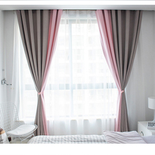 Polyester Window Curtains For Living Room Nordic Curtain Left And Right Biparting Open Solid Curtains 1300w r404a cassette condensing unit for front open air curtain and wall chiller