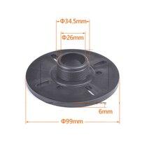 Переходное кольцо с тройной головкой с плоским ртом с винтовым угловым рупорным адаптером 34 ядра спикер 44,4 51 ядро универсальный