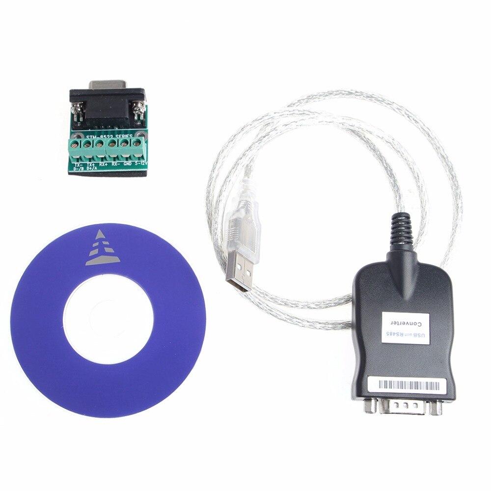 USB 2.0 À Port Série RS485 Convertisseur Adaptateur Câble Pour WinXP/7 Linux Mac