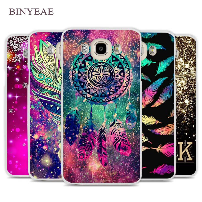 BINYEAE Dream catcher feather stars Christmas Phone Case Cover for Samsung Galaxy J1 J2 J3 J5 J7 C5 C7 C9 E5 E7 2016 2017 Prime