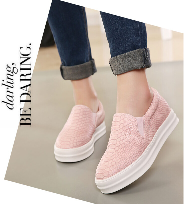 New Autumn Comfort Women Shoes Women Loafers Casual Flats Heels Round Toe  Black Pink Loafer Shoes-in Women's Flats from Shoes on Aliexpress.com |  Alibaba ...