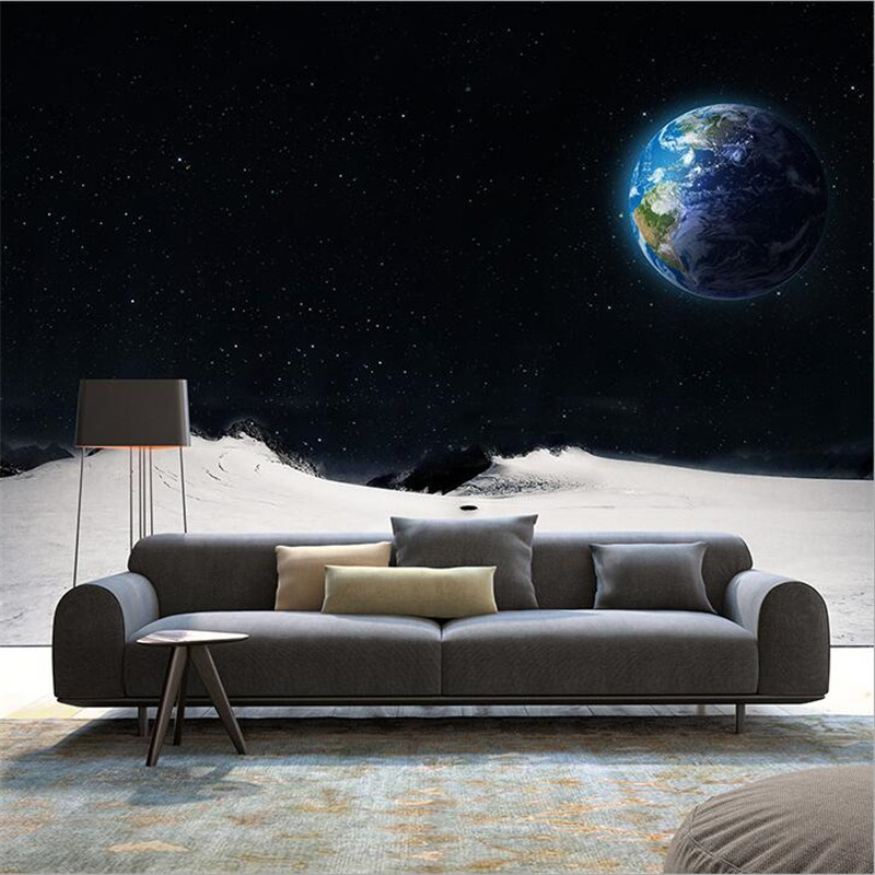 Photo wallpaper 3d stereoscopic television sofa living for 3d wallpaper for bedroom