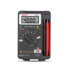 VC921 3 3/4 DMM Integrated Personal Handheld Pocket Mini Digital Multimeter capacitance resistance frequency tester