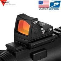 Chasse Glock optique Micro Reflex point rouge lunette de visée lunette de visée luminosité réglable lunette de visée optique Airsoft soupir