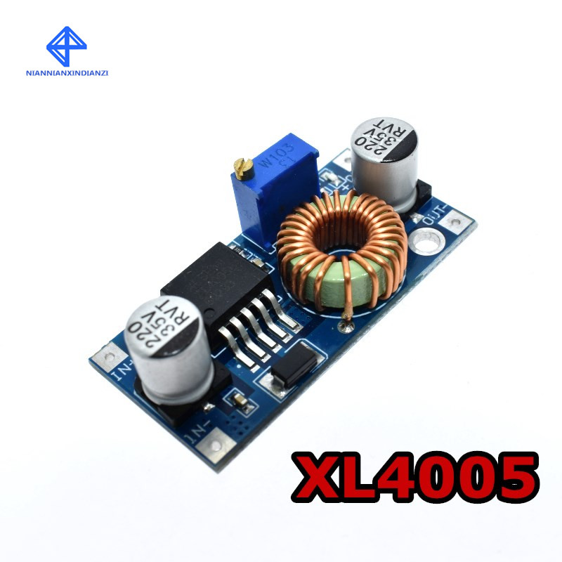 XL4005 DSN5000 Beyond LM2596 DC-DC Adjustable Step-down 5A 75W Power Supply Module Large Current Large Power