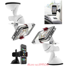 lovely pu cell phone holder w hook for car black red 360 degree Black and white car magnet mini-phone holder Sticky Suck Cell Phone Support For  samsung s6 edge for iphone 5s holder