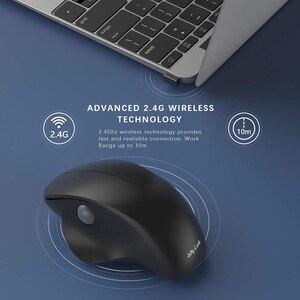 Image 3 - Gelée peigne 2.4G USB souris sans fil souris silencieuse souris verticale ergonomique pour Windows ordinateur portable pc de bureau optique Mause