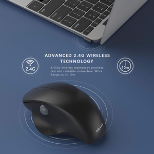 Image 3 - Jelly Comb 2.4G USB Wireless Mouse Silent Mice Ergonomic Vertical Mouse for Windows Computer Laptop PC Desktop Optical Mause