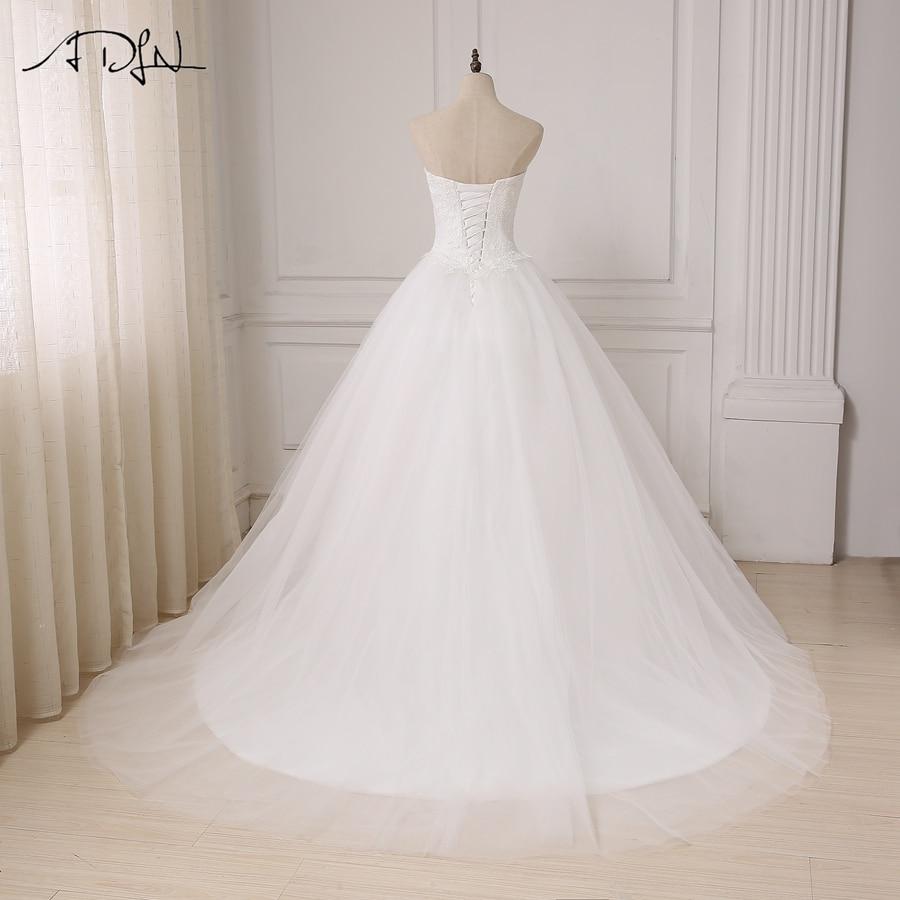 ADLN Robe De Mariage Princess White / Rochie de mireasa rochie de - Rochii de mireasa - Fotografie 2