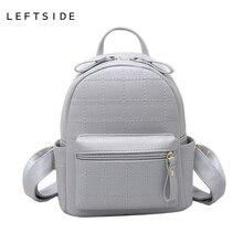 LeftSide модные женские туфли рюкзаки женственный дорожный рюкзак школьные сумки для девочек из искусственной кожи Back Pack для подростков Новый