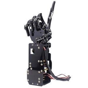 Image 2 - תעשייתי רובוט זרוע ביונית רובוט ידיים גדול מומנט סרוו אצבעות עצמי תנועה מכאני יד עם לוח בקרה