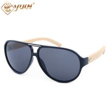 Fashion summer sunglasses mens brand designer glasses good quality bamboo arms wooden sun glasses oculos de sol masculino 1027