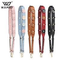 WDPOLO New Flower Design Women Handbags Strap Lady Shoulder Bag Strap Easy Matching Women Fashion Bags