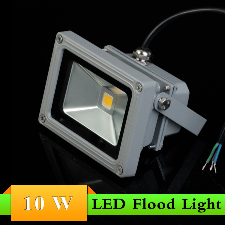 2pcs lot IP65 Waterproof 10w 20w 30w red yellow green blue LED Floodlight Outdoor Lamp Retail
