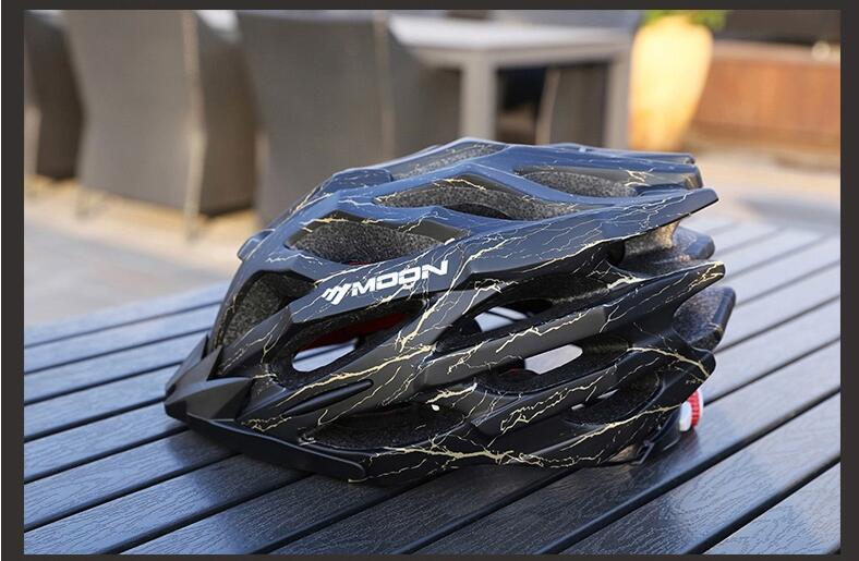 Promend велосипедный шлем mtb и дорожный Сверхлегкий 220 г защитные велосипедные шлемы горный велосипед шлем для мужчин 57 62 см - 4