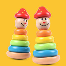 Деревянные игрушки Монтессори обучающая игрушка для детей детские