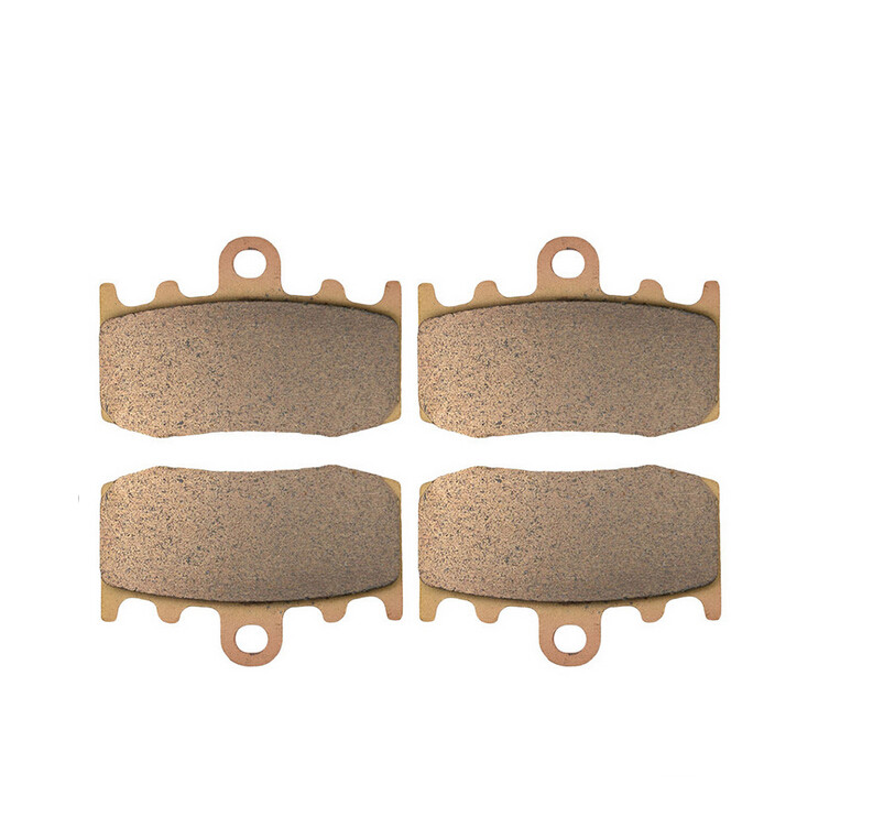 Motorcycle Front & Rear Brake Pads Kit For BMW R1200GS R1200 R 1200 GS Adventure 2007-2008 Copper Based Sintered