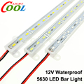 LED Bar Light 5630 DC12V IP68 Waterproof High Brightness 5630 36LEDs 50cm 7 Color for Choice.