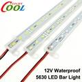 LED Bar Light 5630 DC12V IP68 Waterproof High Brightness 5630 36LEDs 50cm 7 Color for Choice.