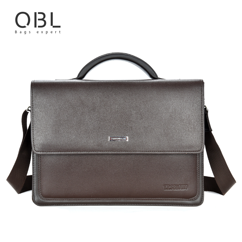 Bolsa Estilo Satchel : Fashion handbag men bag briefcase business travel laptop