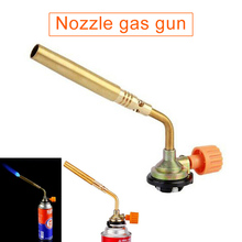 Propane gas torch burning blowtorch butane welding kitchen outdoor camping barbecue flame tool WWO66