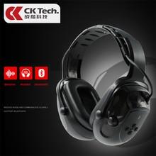 Ck tech. eletrônica tiro earmuff caça monitor de redução de ruído automático earmuffs anti-ruído silenciador bluetooth