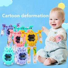 3 in 1 Boys Watch Toy Deformation Robot
